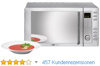 Clatronic MWG 775 H/ Mikrowelle mit Grill