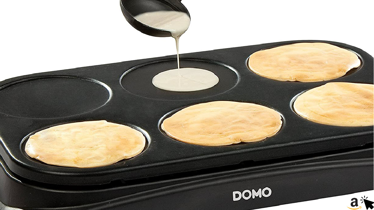 DOMO Familien Crepes-Maschine