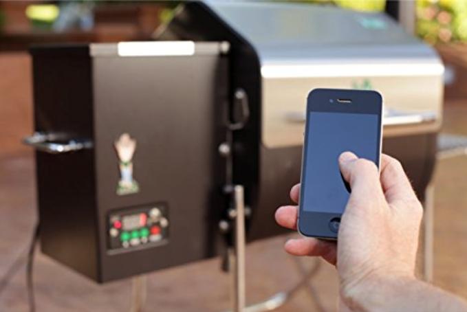 Davi Crocket Holzpelletgrill mit App-Steuerung