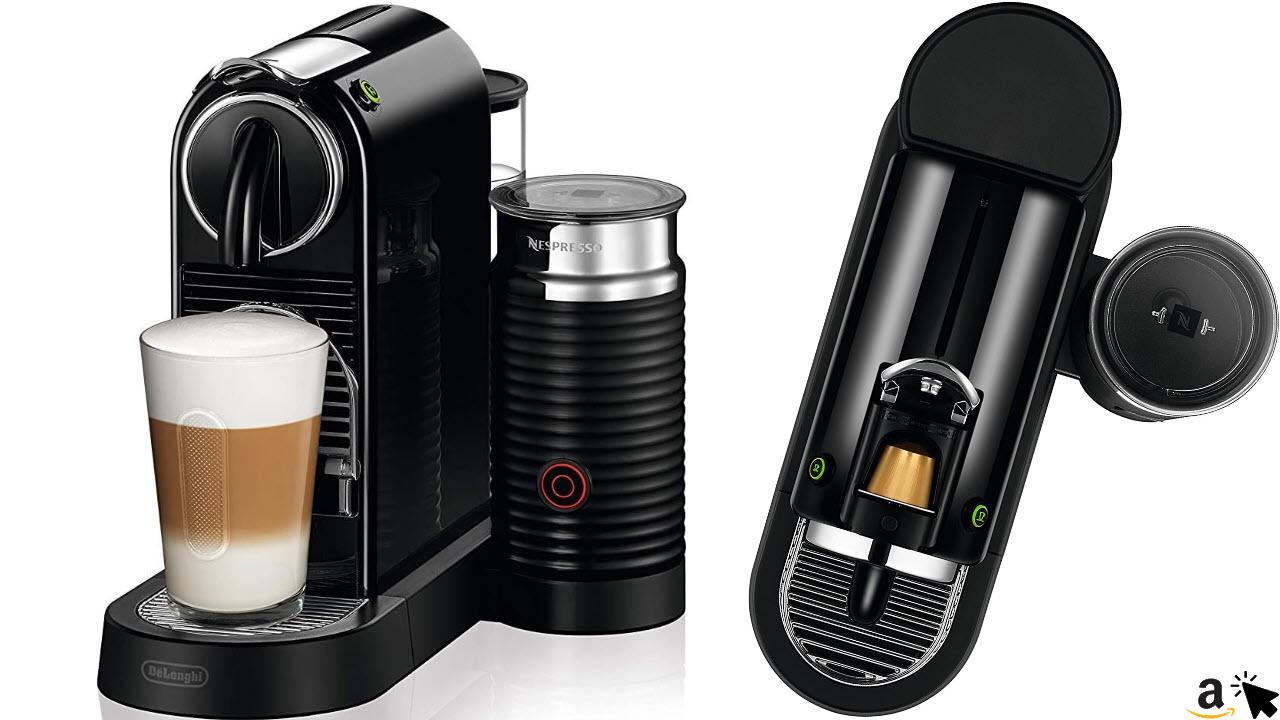 De'Longhi Nespresso Citiz EN267 BAE Kapsel-Kaffemaschinemit Aeroccino Milchaufschäumer