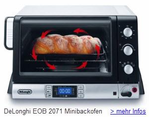 DeLonghi EOB 2071 PanGourmet Minibackofen