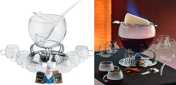 Kela Glas-Feuerzangenbowle-Set