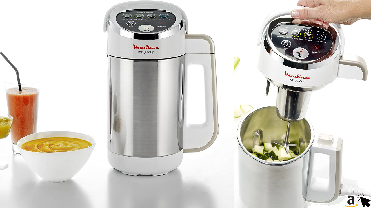 Moulinex lm841110 Easy Soup Standmixer mit Kochfunktion