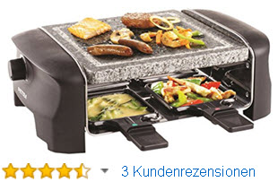raclette test stiftung warentest lufting mellom. Black Bedroom Furniture Sets. Home Design Ideas