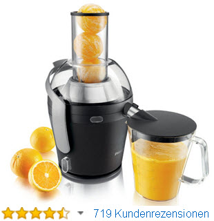 Philips Obst & Gemüse Entsafter » ab ca. 109€ (Amazon Bestseller)