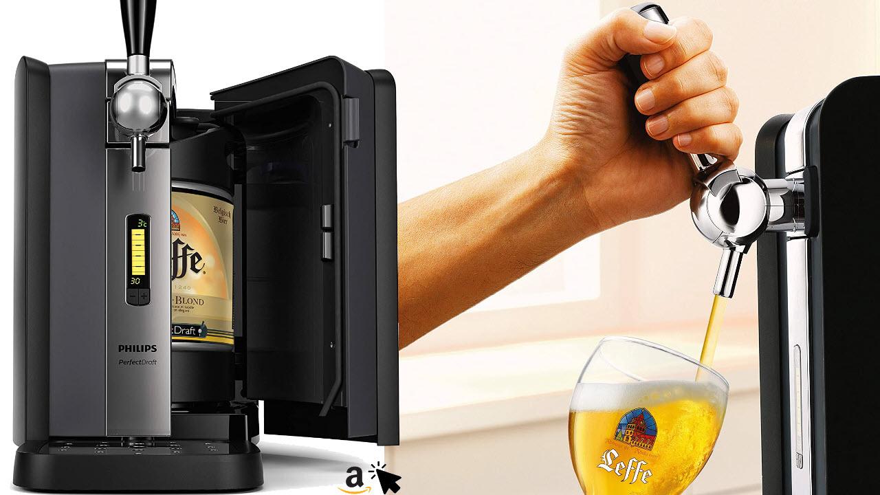 Philips HD3720-25 PerfectDraft, Bierzapfmaschine, 6 Liter Bierzapfanlage mit Kühlung auf 3°C