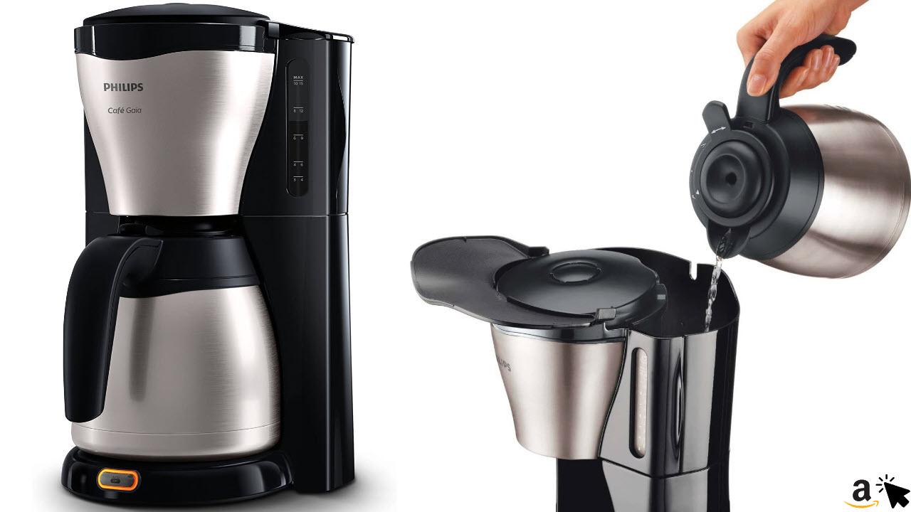 Philips HD7546-20 Gaia Filter-Kaffeemaschine mit ThermosKanne