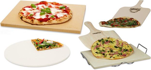 Pizzastein Varianten Test Vergleich
