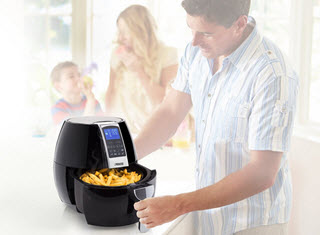 Princess Digitale Airfryer Heißluftfritteuse