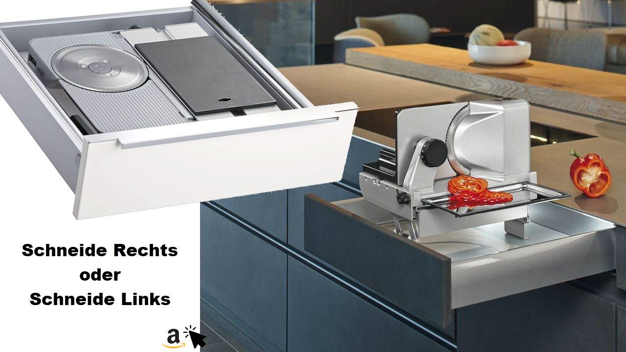 Ritter MultiSchneider AES 62 SR silber-metallic, Allesschneider für Schublade