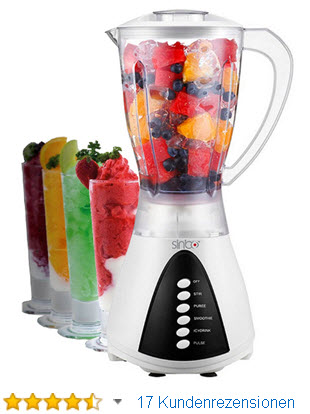 Sinbo Smoothie Maker 5 Stufen Standmixer