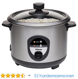 Reiskocher test - Reis kochen quellmethode ...