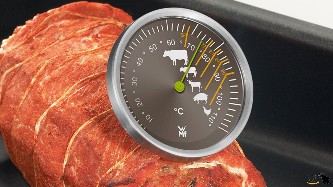 WMF Scala Grill-Fleischthermometer mit Markierung Garpunkte