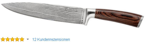 Wakoli 1DM-CHE-EDB Damastmesser Chefmesser