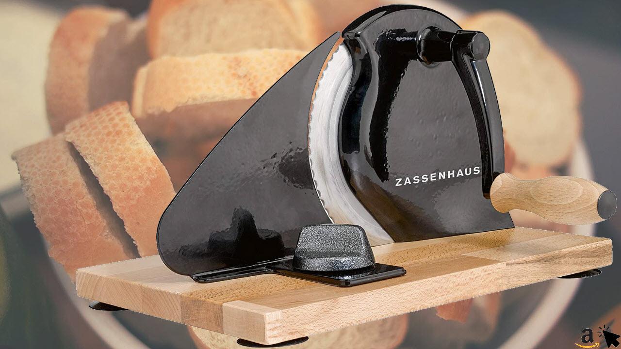Zassenhaus Classic Retro Manuelle-Hand Brotschneidemaschine