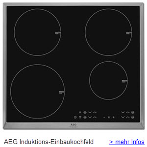 AEG Induktions Einbaukochfeld