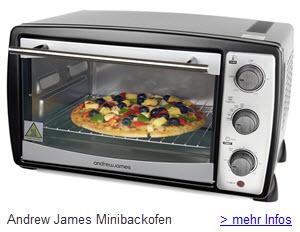 Andrew James Minibackofen Tischbackofen