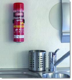 ABUS Feuerlöschspray für die Küche