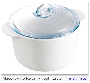 MaestroVitro Keramik Topf
