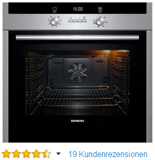 Siemens HB23GB540 Backofen Edelstahl